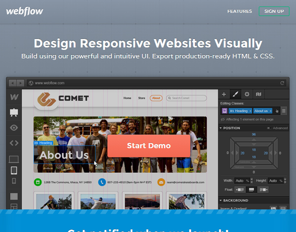 webflow 25 Beautiful and Inspiring Websites Using Bootstrap