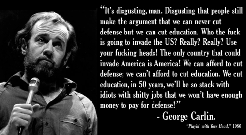 Wise Quotes From George Carlin (6)