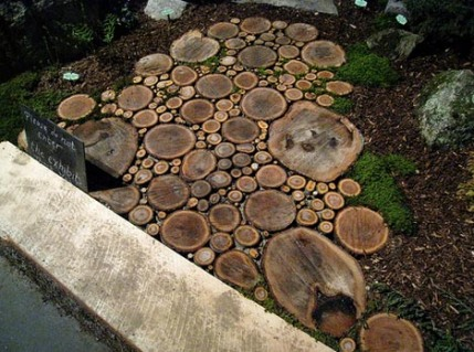 wood patio deck design idea1 Trash to Treasure: 40 Creative Recycled and Repurposed Artworks