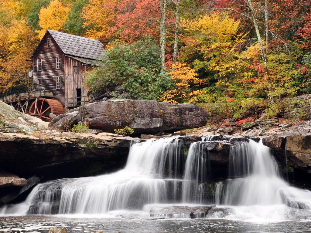 Autumn Mill By Travis Lair