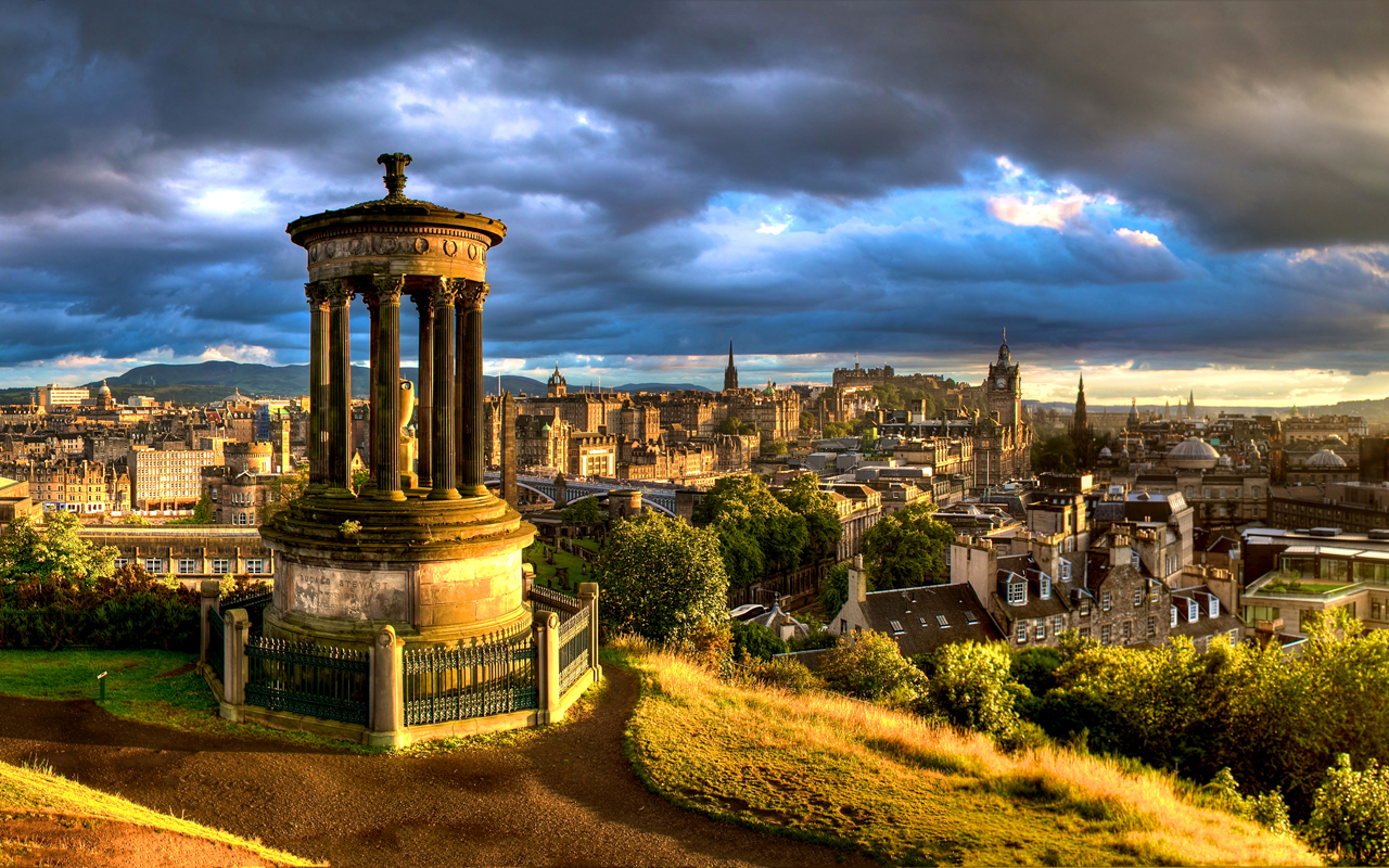 Calton Hill, Edinburgh By richardsim7