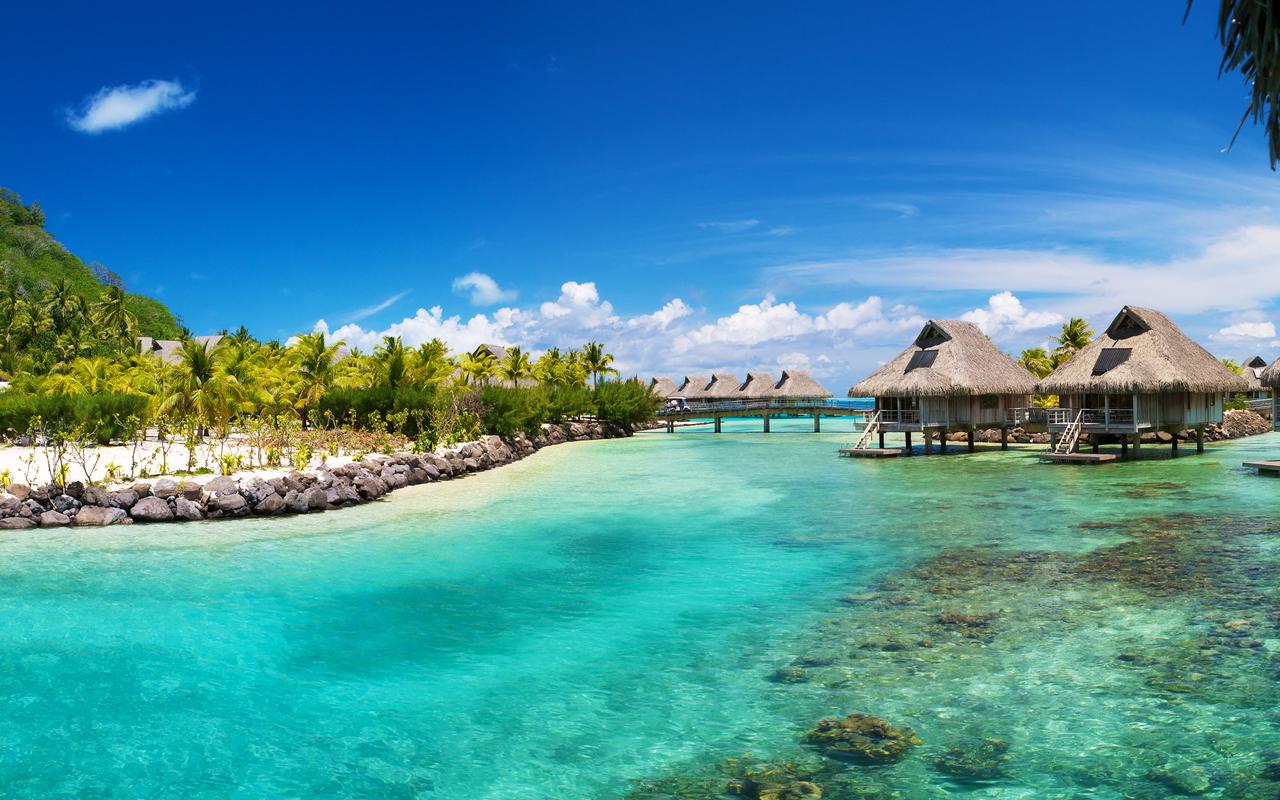 Hilton Bora Bora By Dan Grady