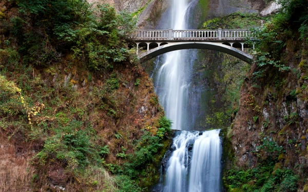 Multnomah Falls By Persons0