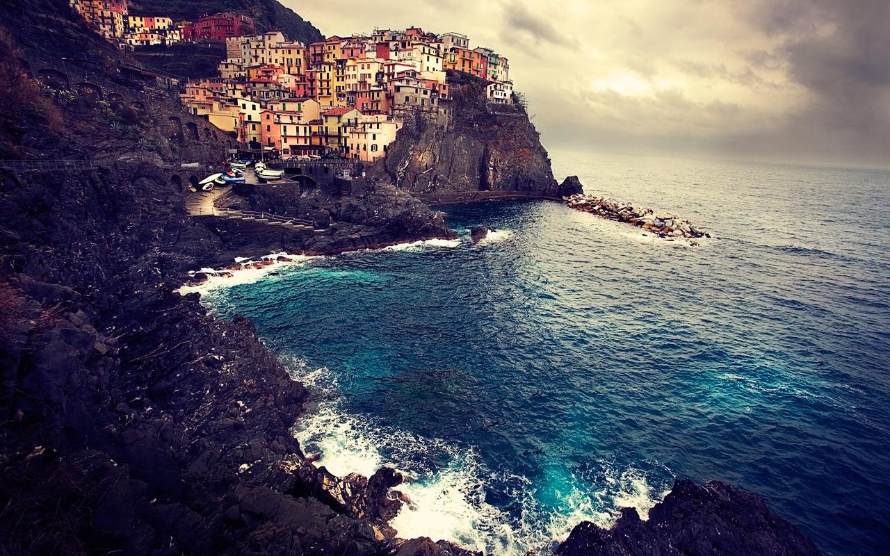 Manarola, Cinque Terre - Take II By lmborlenghi
