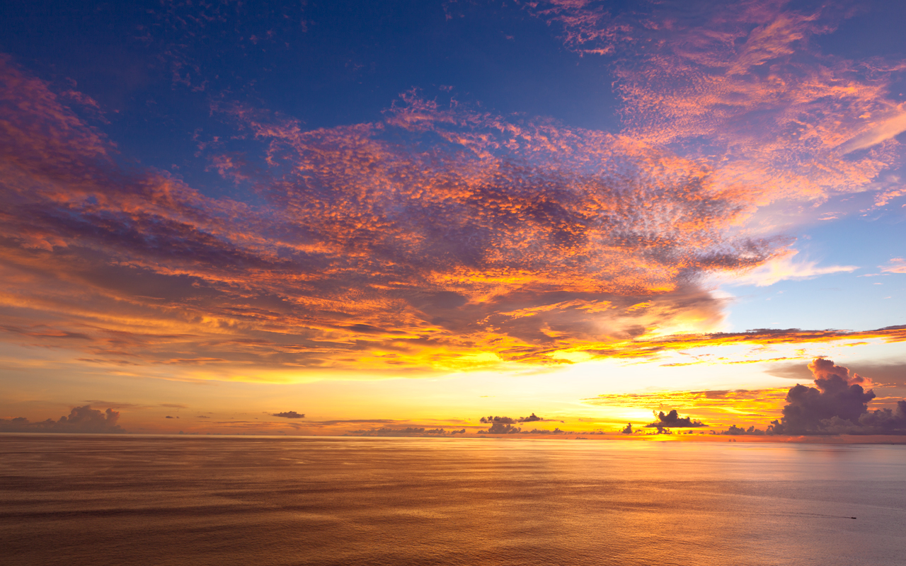 Bali Sunset By strife