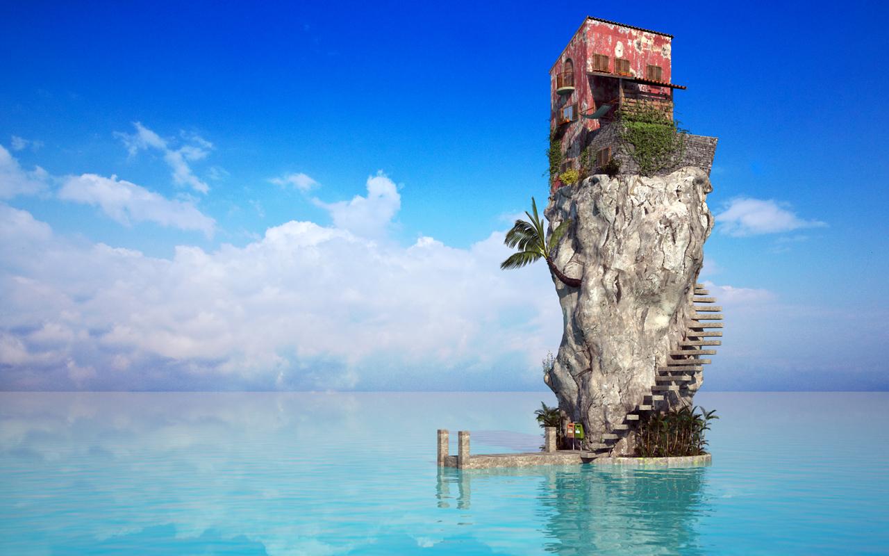 Paradise Rock By Jonathan Besler