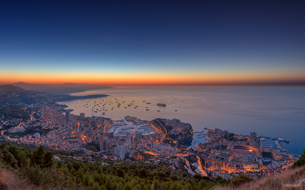 Monaco Yacht Show 2012 HDR Panorama By Crevisio