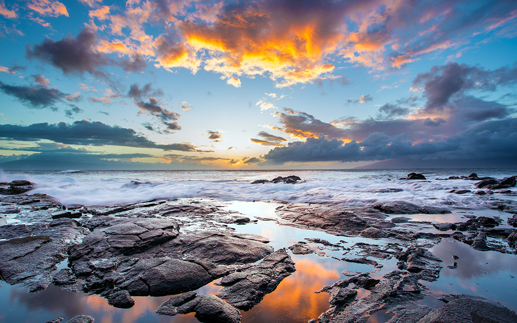 Kapalua After Sunset By Jeffery Hayes