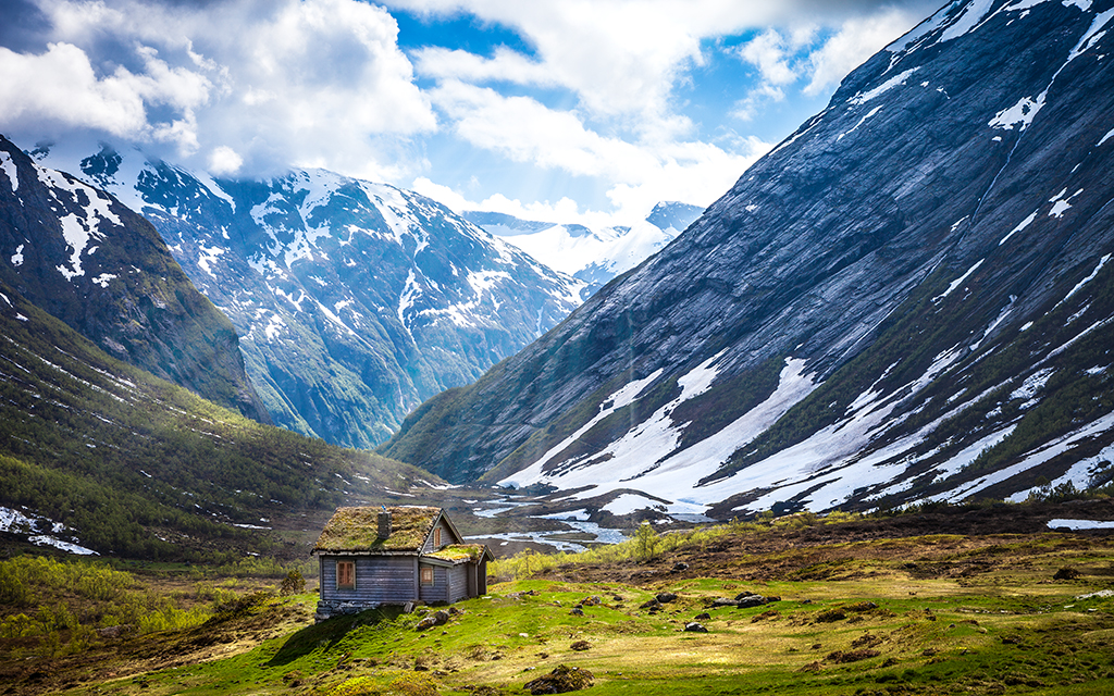God's Cottage By Lowe Rehnberg