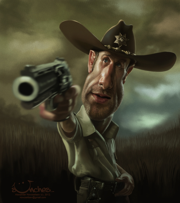 0fb9845d19459889e6f3096bb43e992d1 40 Expressive Walking Dead Fan Artworks