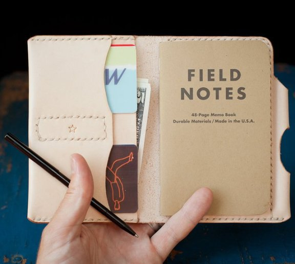 Field Notes Leather Wallet