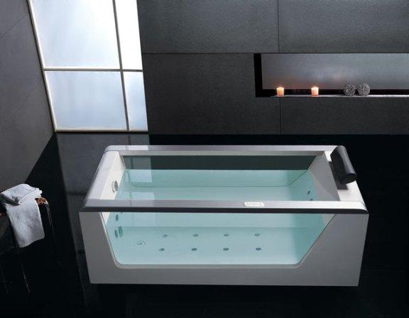 EAGO Luxury Clear Whirlpool Hot Tub