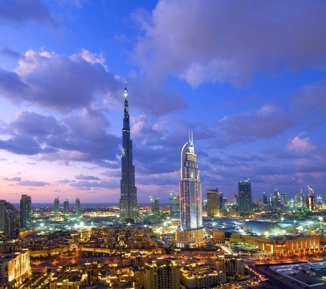 Downtown Dubai and Burj Khalifa