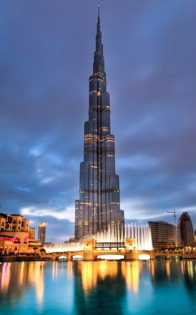 Burj Khalifa Tower @ Dubai