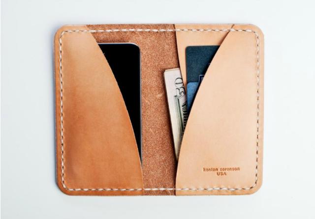 Modern Man iPhone Wallet by Kenton Sorenson