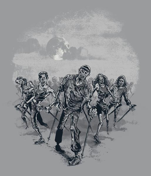 The NORDIC walking dead by Peter Kramar