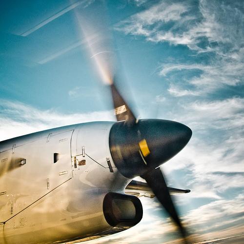 Clouds / Plane / Sky