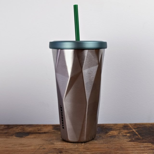 Starbucks Stainless Steel Chiseled Tumbler