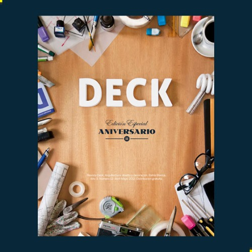 DECK Magazine Cover Artwork