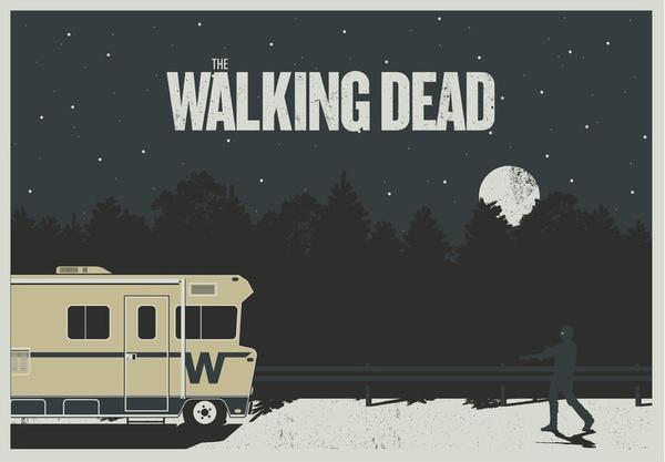 Walking Dead by Brandon Riesgo