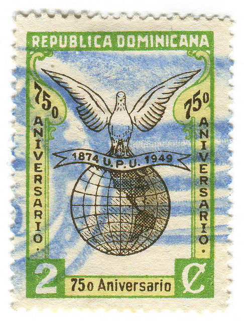 Dominican Republic Postage Stamp: 75th anniversary