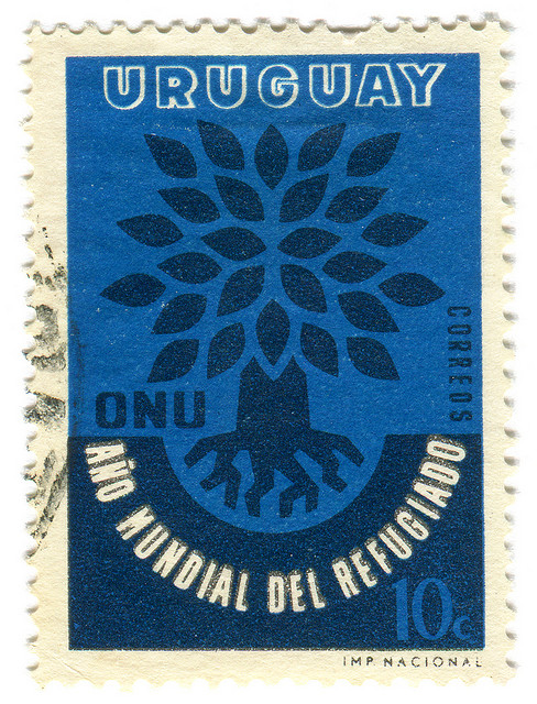 Uruguay Postage Stamp: ONU tree
