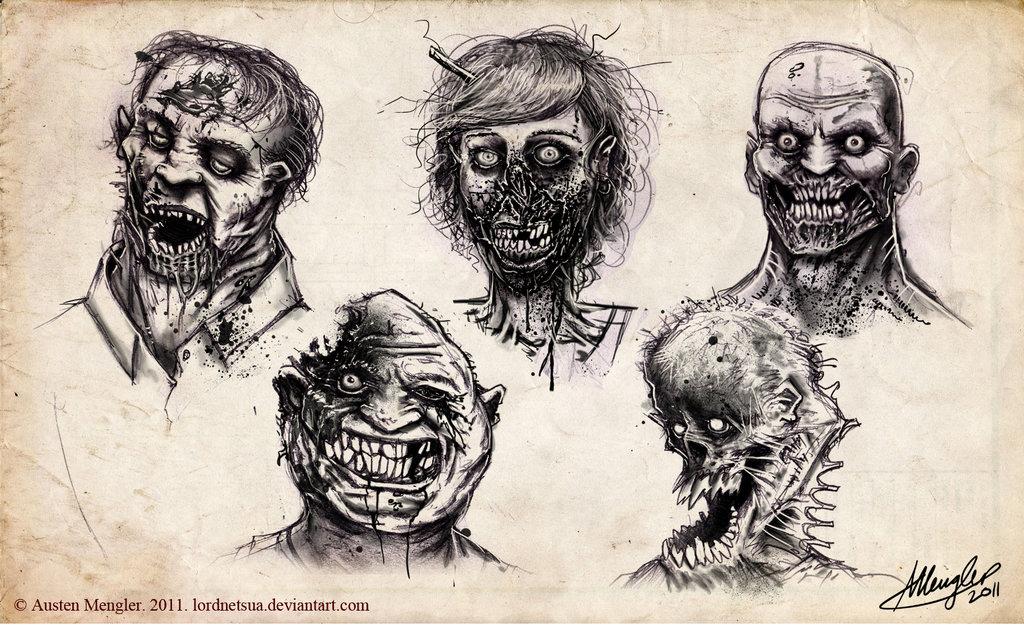 The Walking Dead by Lord Netsua