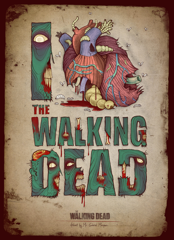 The Walking Dead By Mr. Gabriel Marques