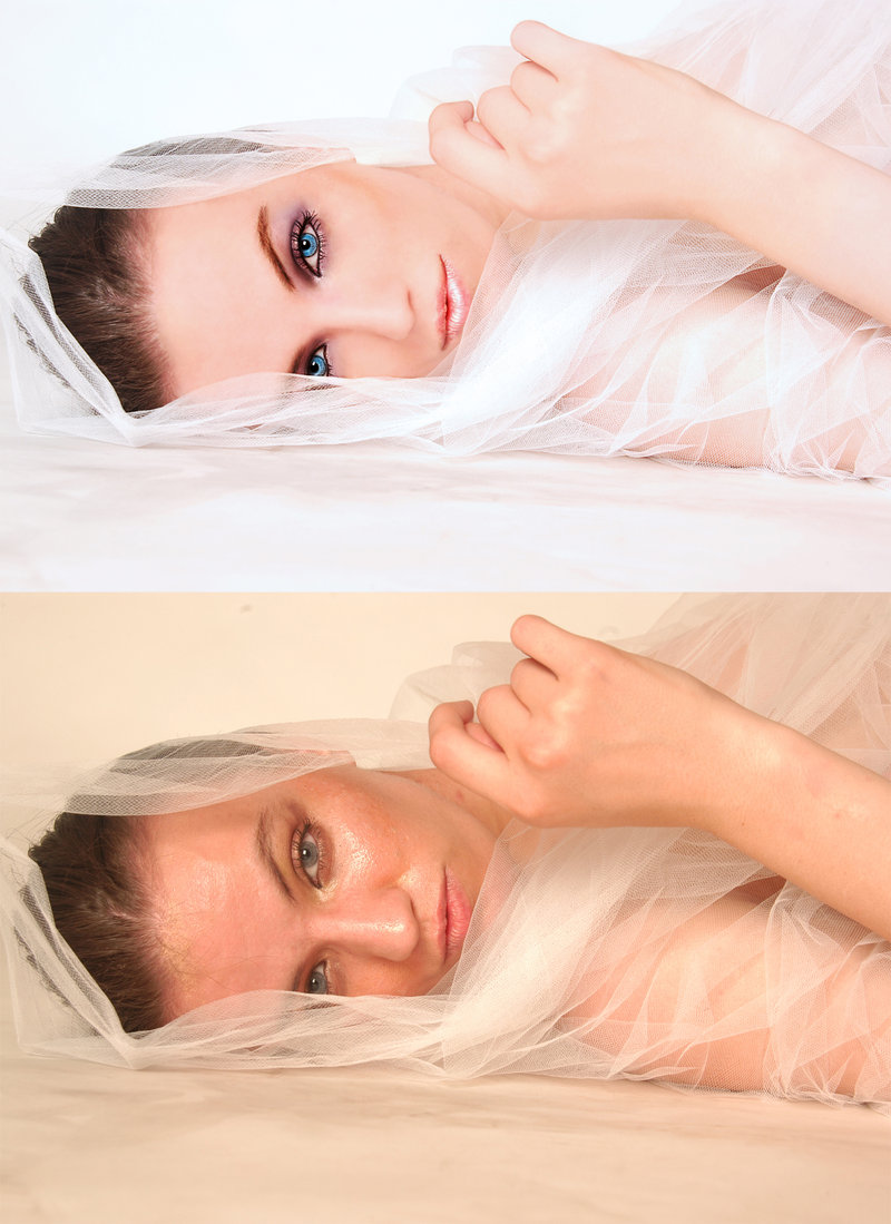 before and after by silverpaw981 Retouching Inspiration: 30 Incredible Before and After Photos