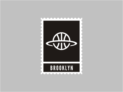 brooklyn1 50 Beautiful Postage Stamp Designs