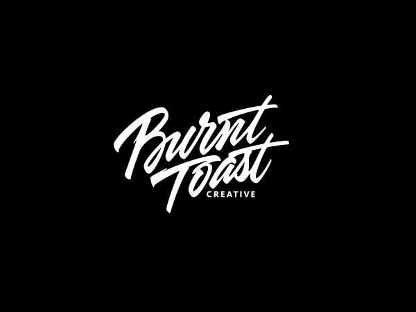 burnttoast1 Expressive Lettering and Calligraphy by Sergey Shapiro