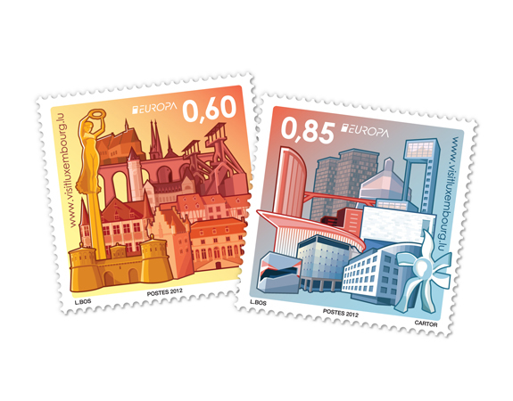 Luxembourg postage stamps