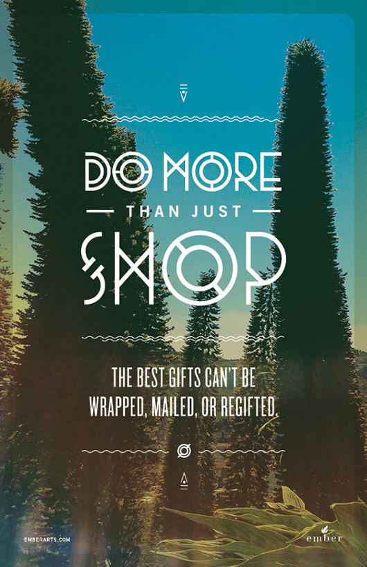 do more than just shop 1 Do More Than Just Shop Campaign by Caava Design