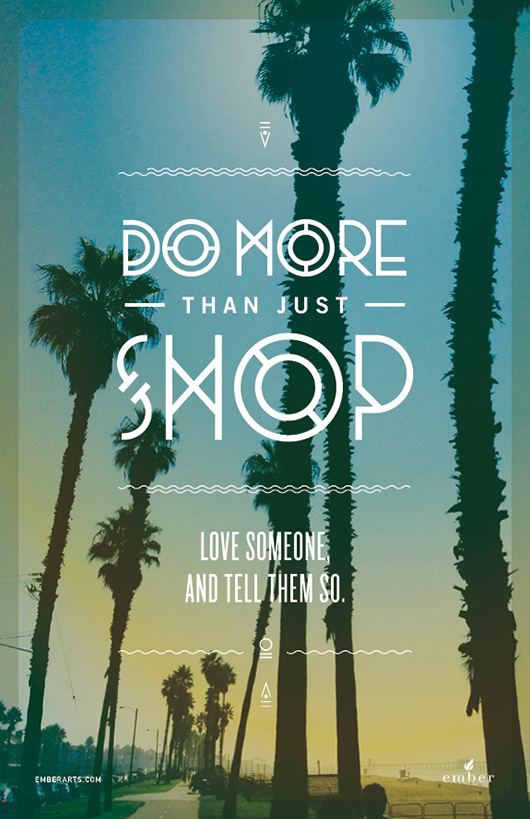 do more than just shop 4 Do More Than Just Shop Campaign by Caava Design