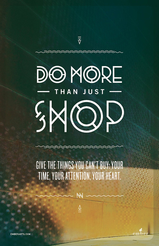 do more than just shop 5 Do More Than Just Shop Campaign by Caava Design