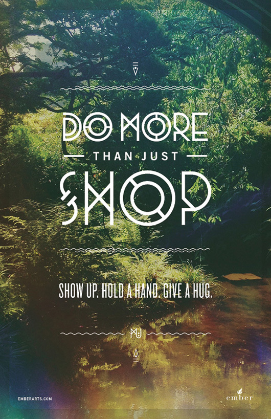 do more than just shop 9 Do More Than Just Shop Campaign by Caava Design