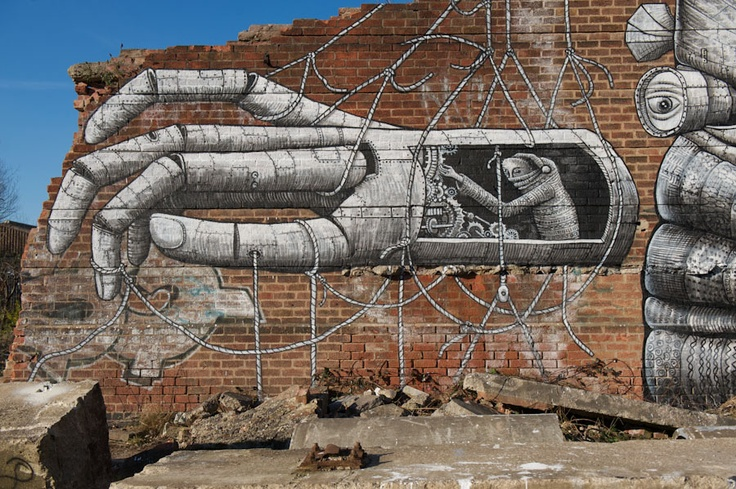 Graffiti Art by Phlegm (1)