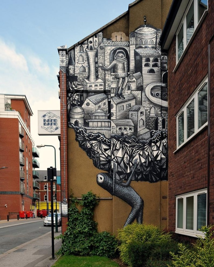 graffiti art by phlegm 3 4 Graffiti Artists to Watch in 2013