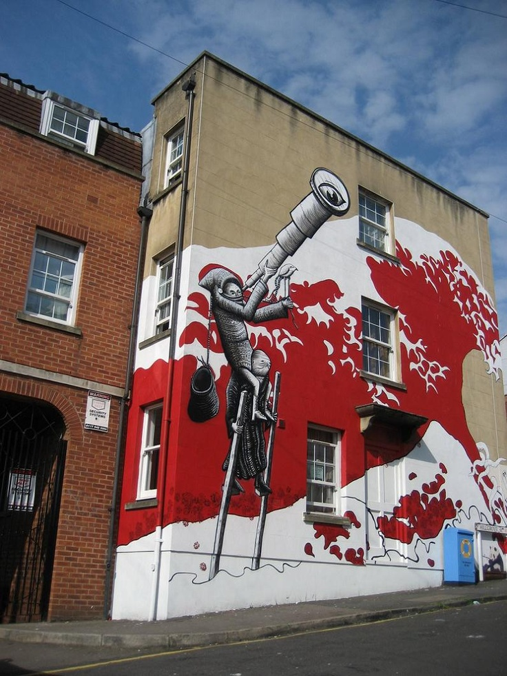 graffiti art by phlegm 4 4 Graffiti Artists to Watch in 2013