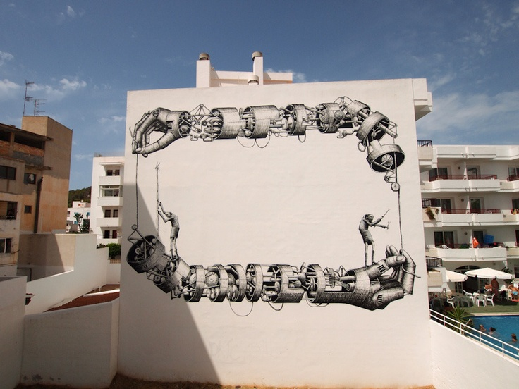 graffiti art by phlegm 5 4 Graffiti Artists to Watch in 2013