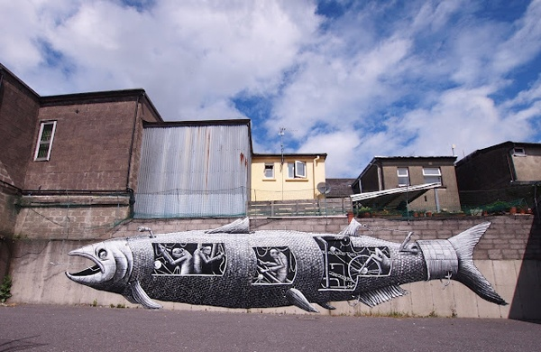 graffiti art by phlegm 6 4 Graffiti Artists to Watch in 2013