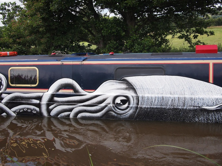 graffiti art by phlegm 7 4 Graffiti Artists to Watch in 2013
