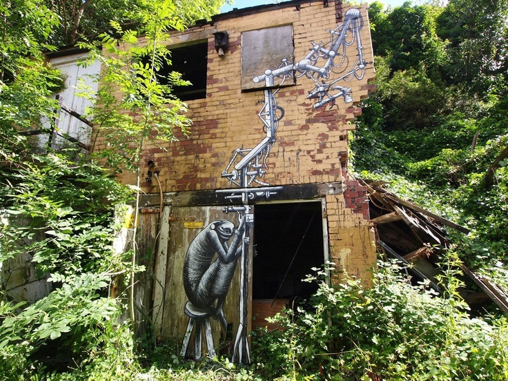 graffiti art by phlegm 8 4 Graffiti Artists to Watch in 2013