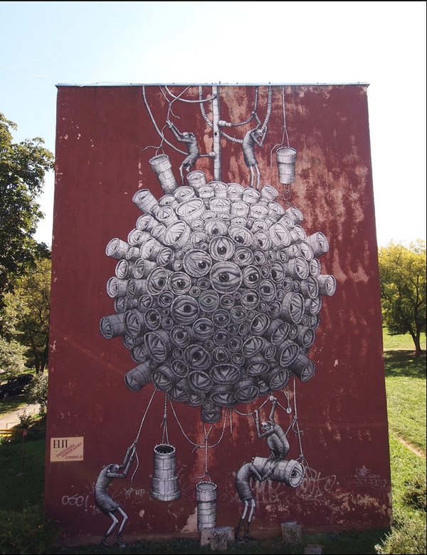 graffiti art by phlegm 9 4 Graffiti Artists to Watch in 2013