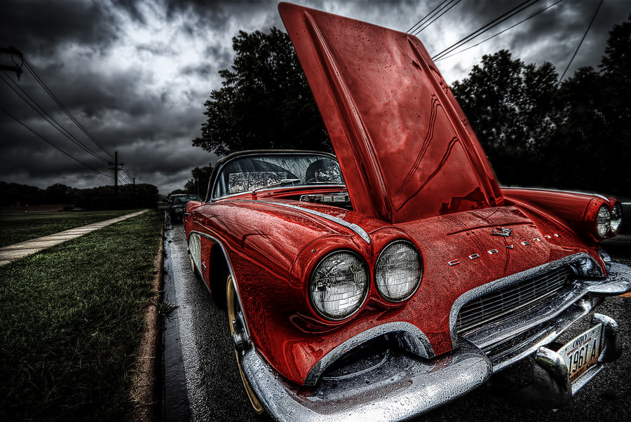 Old Corvette by Braxtonds