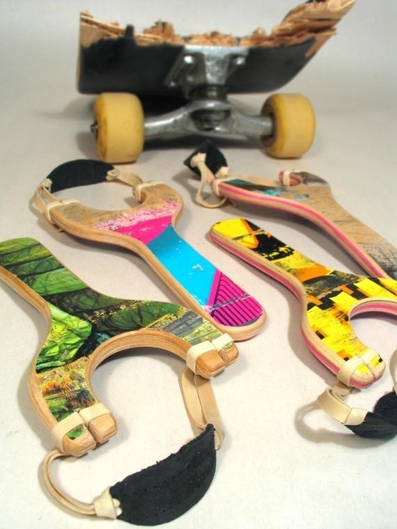 Skateboard Slingshot