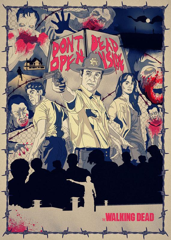 The Walking Dead by Bigode