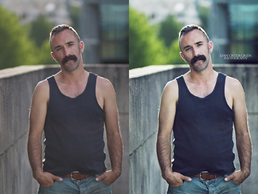 Jason- Before and After Retouching