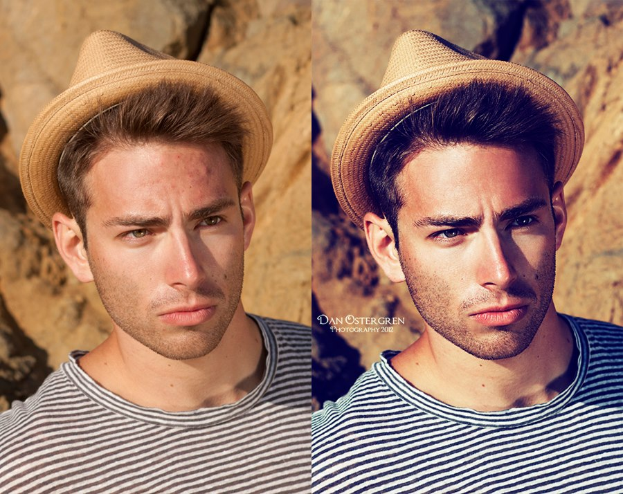 Jon- Before and After Retouching