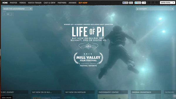 lifeofpi 2013 Web Design Inspiration: Designing with Video Backgrounds